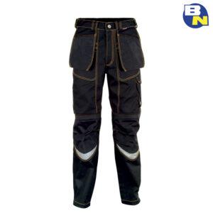 Abbigliamento-Antinfortunistica-cofra-pantalone-tecnico-con-porta-ginocchiere-nero