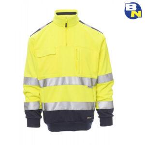 Abbigliamento-Pro-felpa-ad-alta-visibilità-gialla