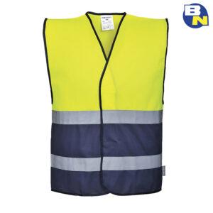 Abbigliamento-Pro-gilet-bicolore-ad-alta-visibilità