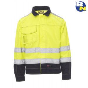 Abbigliamento-Pro-giubbino-ad-alta-visibilità-giallo