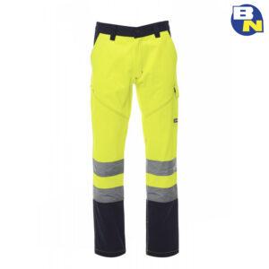 Abbigliamento-Pro-pantalone-bicolore-ad-alta-visibilità-giallo