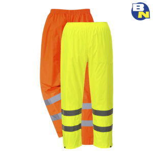 Abbigliamento-Pro-pantalone-impermeabile-alta-visibilià