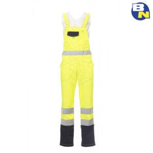 Abbigliamento-Pro-pettorina-alta-visibilità-gialla