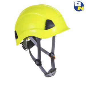 Protezione-DPI-elmetto-da-ponteggista-giallo