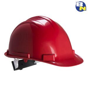 Protezione-DPI-elmetto-rosso